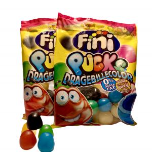 Bonbons Fini DrageBille Color Pucks