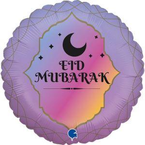 Ballon Aluminium 45cm Eid Mubarak – Grabo