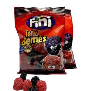 Bonbons Fini Mûre Perlée Rouge et Noire Jelly Berries
