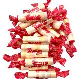 Fizzy Rolls Rouleaux de Bonbons Dextrose