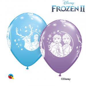 Reine Des Neiges 2 Disney 6 Ballons 11″ Qualatex