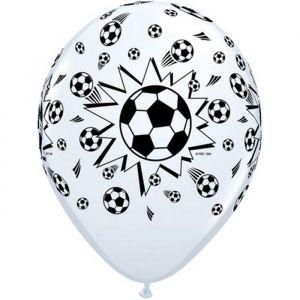 FootBall Soccer Balls 6 Ballons 11″ Qualatex