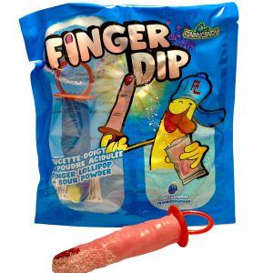 Finger Dip Sucette Doigt Poudre Acidulée Framboise